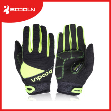 Fashion Outdoor Leather Racing Riding Full Finger Cycling Gloves