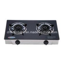 2 brûleurs en verre trempé en laiton 120mm Whirlwind Cuiseur à laiton / cuisinière à gaz
