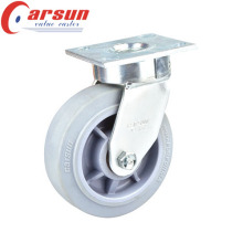 100mm Heavy Duty Impak Kingpinless Swivel Castor with TPR Wheel