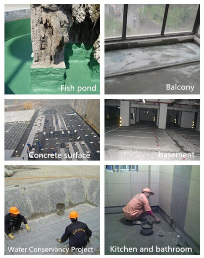 JS waterproof coating polymer cement - based composite waterproof coating