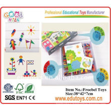 Wooden Educational Toys Teaching Aids Enlighten Brick Toys