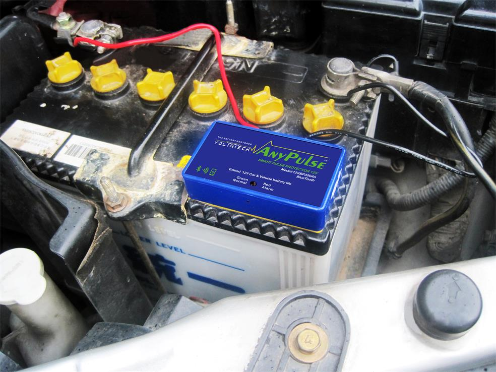 Installation to Cars start up battery GPS and Bluetooth
