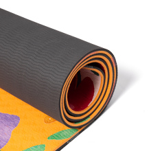 2021 trendy cheap price eco friendly non slip fitness exercise  color  pilates fitness workout  tpe printed yoga mats
