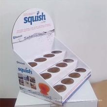 Рекламный многоразовый картонный счетчик с 12 корпусами