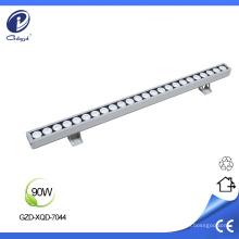 Arandela lineal de pared de 90W para montaje en superficie impermeable
