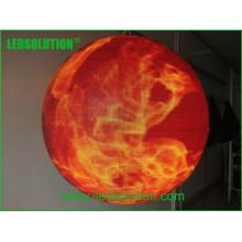 П4.8 крытый полный Цвет светодиодный шар Сфера Дисплей
