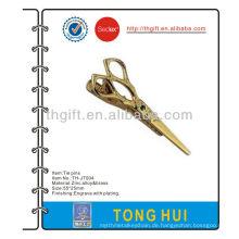 Die Schere / Schere Metall Krawatte Pin / Clip / Bar