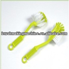 high speed kitchen dish washing brush drilling and tufting machine