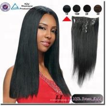 оптовая новый натуральный 100 бразильского Виргинские человеческих волос расширения