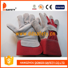 Gants de sécurité en souteuse en cuir Split (DLC211)