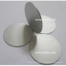 Полированный молибденовый диск