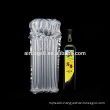 Olive oil inflatable air columns bags cushion packaging