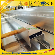 Profils en aluminium de nettoyage extrudés pour la construction d'hôpital