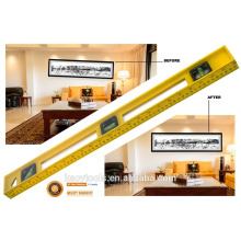 heavy duty I-Beam aluminum spirit level