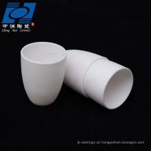 peças brancas da cerâmica da resistência de desgaste