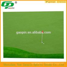 Gazon artificiel haute qualité golf vert mat