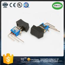 Ein-Aus-Ein Spdt 3p Sub-Miniatur-Wipp- und Hebelgriffschalter, Mini-Schalter, Kippschalter, Taktschalter