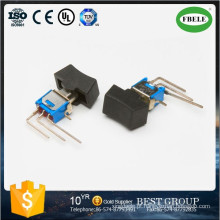On-off-on Spdt 3p Sub-Miniature Rocker e Lever Handle Switch, Mini Switch, Toggle Switch, Tact Switch