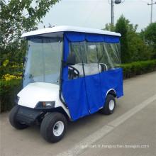 housse de pluie pour chariot de golf pour voiturettes de golf 2-10 places