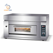 manufactures 1 deck 2 trays infrared restaurant electric pastry cake bakery single deck oven for bakery oven baking