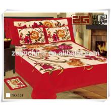 Mais vendidos super macia cama queen cama Consolador Fabricante