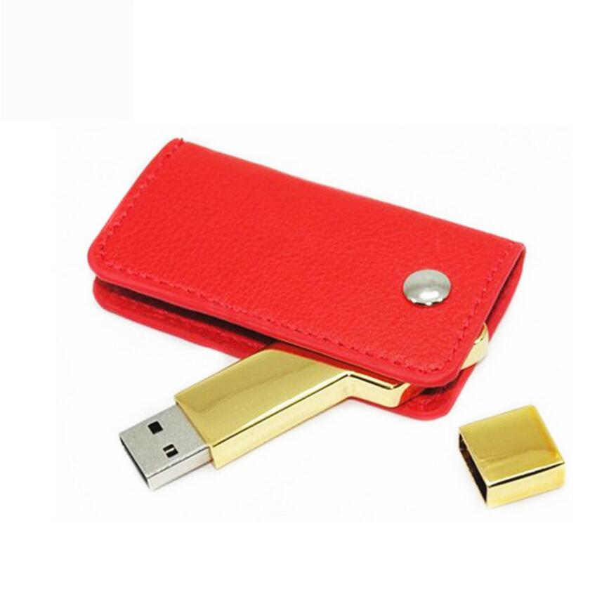 key usb with leather 1