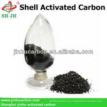 Carril ativado de carvão granulado comercial para venda
