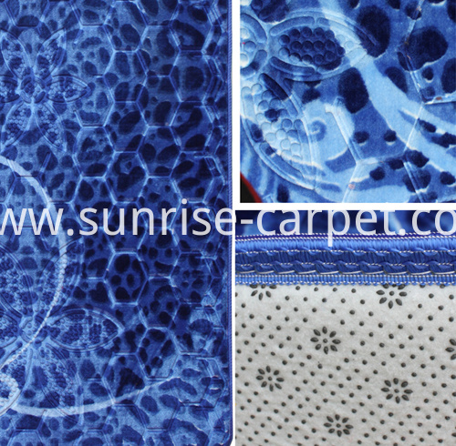 macro embossing design carpet