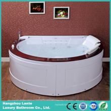 Luxury Surf Hydromassage Bathtub with Colorful LED Lights (TLP-677)