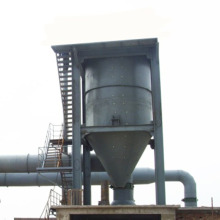 Basura gas filtering industrial cyclone dust extractor