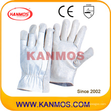 Wholesale Industrial Safety Pig Grain Driver Leather Work Gloves (22205)