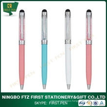Customized Popular Souvenir Pen With Diamond