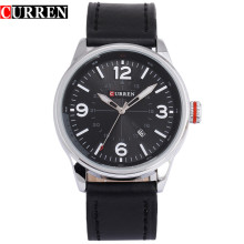 genuine leather strap watch hottest quartz watch