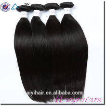 Haiyi Hair Dropsgip Grado al por mayor 10A 20 pulgadas Straight Virgin Malaysian Human Hair Qingdao