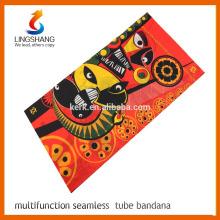 Magic multi uso bandana de refrigeración o mantenga cálida personalizada tubo bufanda con mascarilla