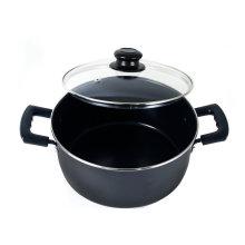Amazon Vendor Алюминиевый антипригарник Голландская духовка 5-Quart Black