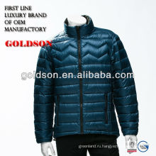 Мужчины высокое качество перо вес подлинной утка вниз куртка