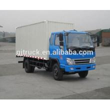 6*2 drive Dayun van truck/Dayun cargo box truck/Dayun van box truck/Van cargo transport truck for 10-48 cubic meter