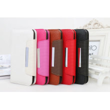 Wallet Detachable Magnet Leather Mobile Phone Case for Samsung S5 (M1471510)