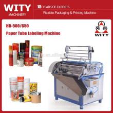 Máquina de etiquetado de tubos de papel