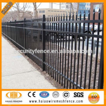 High sale powder coated outdoor wrought iron fence