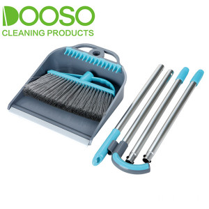 With Teeth Broom And Dustpan Set DS-890B