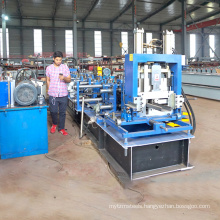 High speed low cost galvanised c/z channel interchangeable steel c z u purlin cold roll forming machine