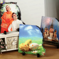 FREESUB Heat Transfer Rock Photo Frame