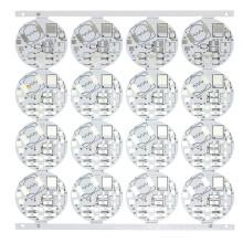 Bombilla LF HASL redonda Alumium PCB