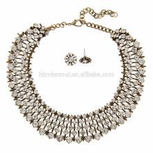 2017 Handgemachte Mix Farbe multi strang perlen halsketten / Rocailles Halskette Modeschmuck