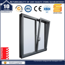 Double Glazing Swinging Aluminium Window with Crank Handle