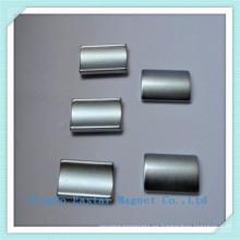 Imán permanente de NdFeB para motores de galjanoplastia del cinc