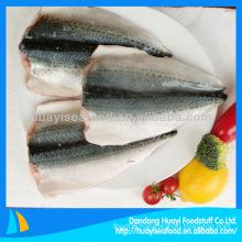 pacific mackerel fillet cleaned