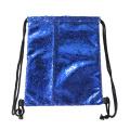 New Design PE Sequin Drawstring Gym Shoe Backpack Bag